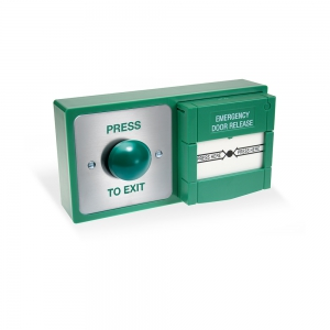 DBB-22-02 Backbox with ITW button and resettable call point