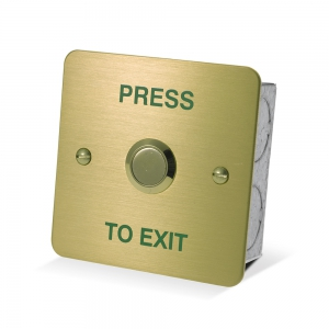DRB-002F-PTE-B Exit Button
