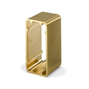 DRB-SH-N-B Narrow Brass Surface Housing